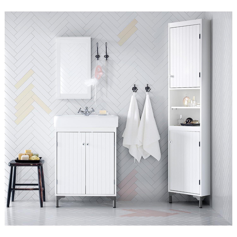 Amazon.com: Double Towel Hook By Ikea, Svartsjon Series (Pack of 2 ...