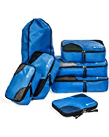 TRAVEL - 7 set Packing Cubes - Ultralight Travel Organizers + Tech Travel Accessories Organizer - Packing System for Checked Bag luggage