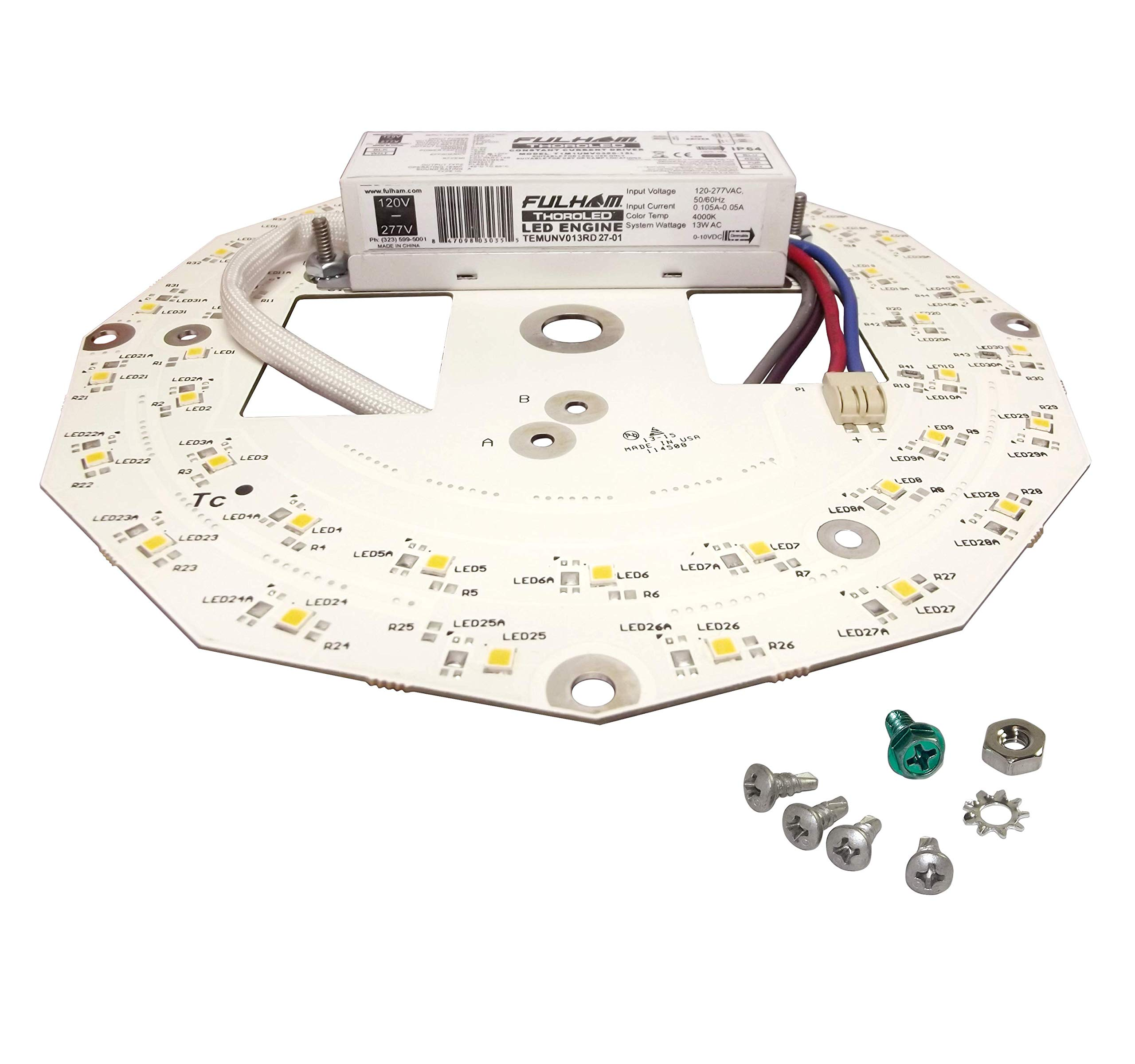 Fulham Lighting CWH22-120-C Canada Series-Workhorse 22-120V-Compact Model with Side Leads