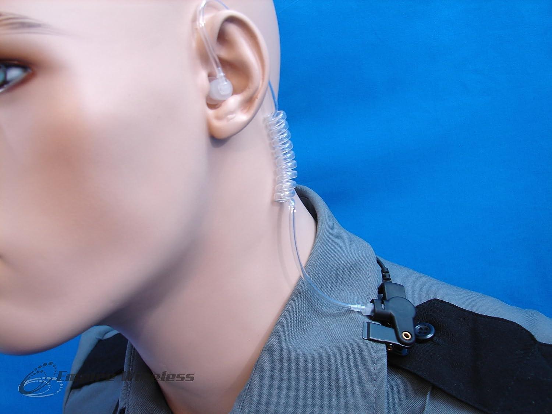 DGP6100 XPR6580 Two-wire Surveillance Earpiece Mic for MOTOROLA XPR6100 XPR6350 APX7000 XPR6550 XPR6380 XPR6300 DGP6150 MOTOTRBO DIGITAL RADIO XPR6500
