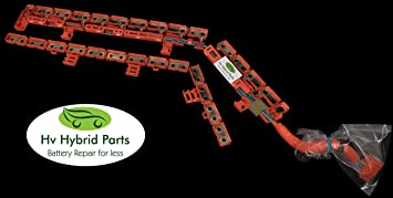 amazon com toyota prius hybrid battery nickel plated bus bar set by