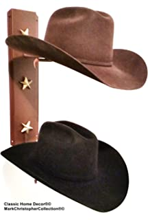bb5ef8414f4 Mark Christopher Collection American Made Cowboy Hat Holder Brim Up with  Gold Stars