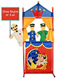 IQ Toys Deluxe Puppet Show Theater Sturdy Non-Top