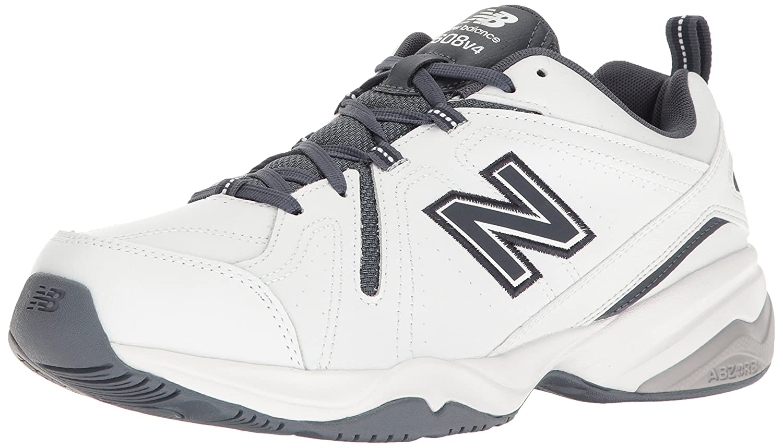 New Balance Men's MX608v4 Training Shoe B01M17EHEU 12 D(M) US|White