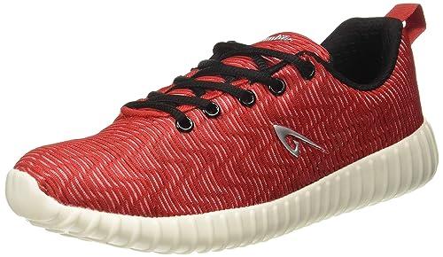 Buy Aqualite Men's Red/Black Running