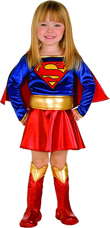 Super DC Heroes Supergirl Toddler Costume, (Size 2-4)