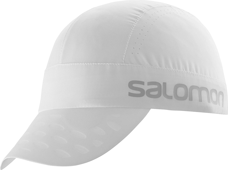Salomon Race Cap Gorra de Corriendo, Unisex Adulto, Blanco, Talla única Ajustable: Amazon.es: Deportes y aire libre