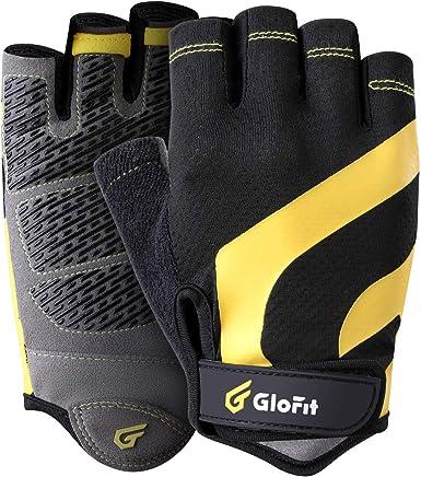 Cycling Gloves Anti-slip Anti-sweat Men Women Half Finger Breathable Anti-shock