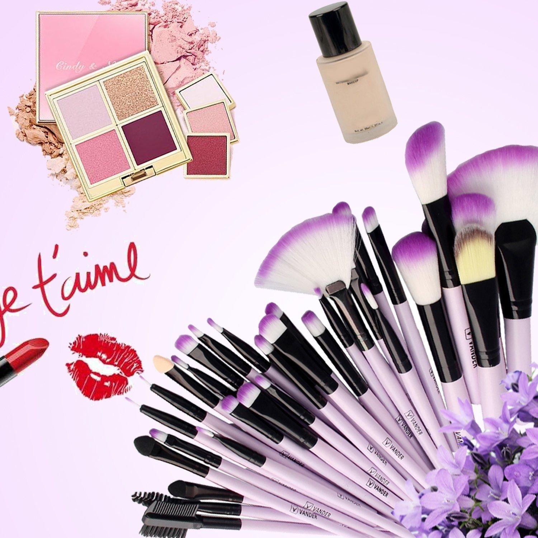 Amazon.com: VANDER - Juego de brochas de maquillaje, 32 ...