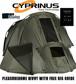 Cyprinus Pleasure Dome Carp Fishing Bivvy Tent Shelter+ 2017 Carpology Rig Guide & Cyprinus Pleasure Dome Carp Fishing Bivvy Tent Shelter+ 2017 ...