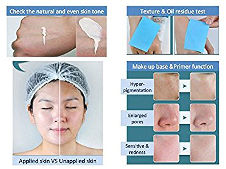 FDA registered Bien Vita Multi UV Primer Plus SPF40 sunscreen, primer, non-chemical, natural, skin protection, No eye stinging or burning sensation.