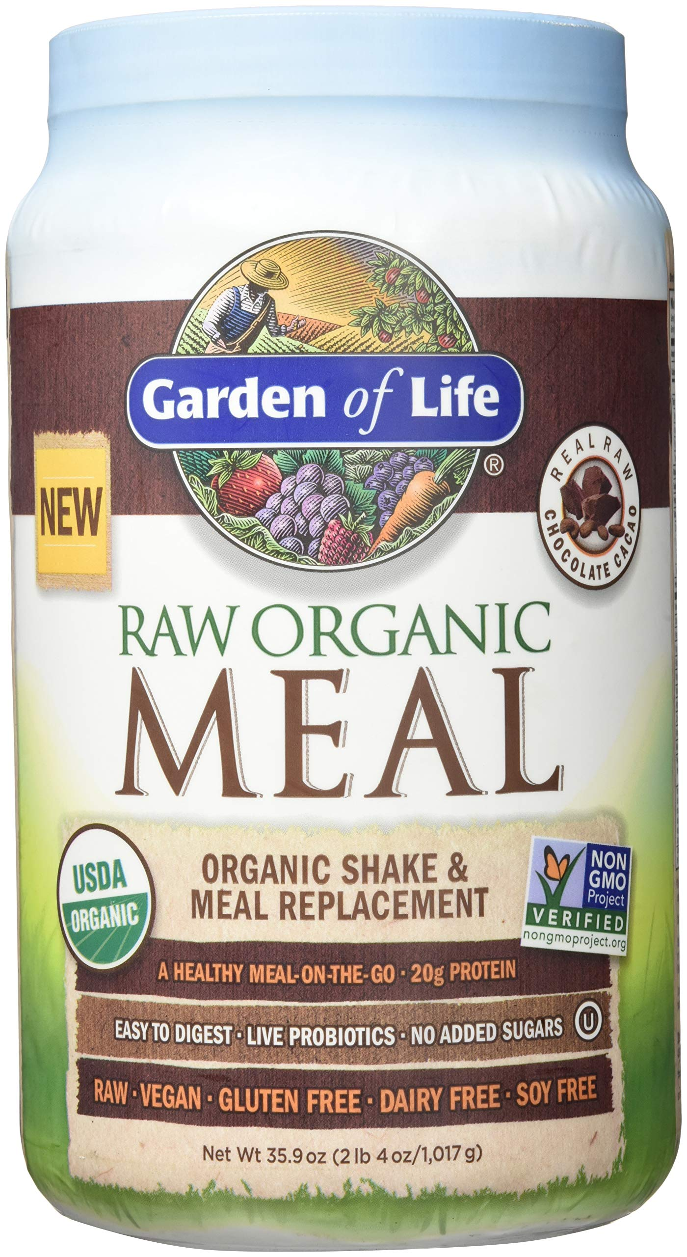 Amazon.com: Garden Of Life Meal Replacement