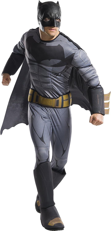 DC Comics - Disfraz de Batman Deluxe para hombre, Talla única ...