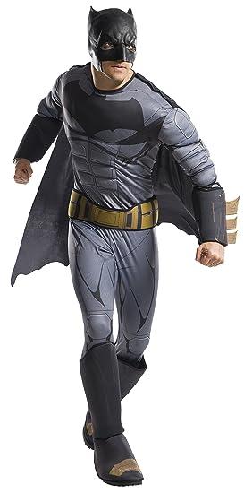 DC Comics - Disfraz de Batman Deluxe para hombre, Talla ...