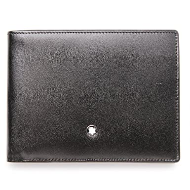 fe5b85b6af Montblanc Meisterstuck 6 Credit Card Wallet at Amazon Men's Clothing store:  Montblanc Mens Wallet