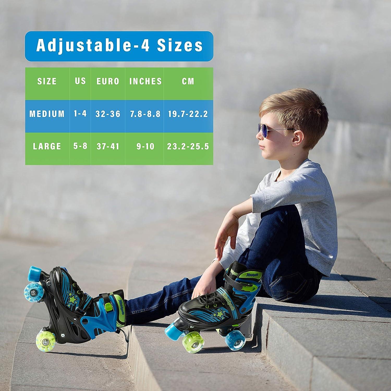 Xino Sports Kids Adjustable Roller Skates - 3