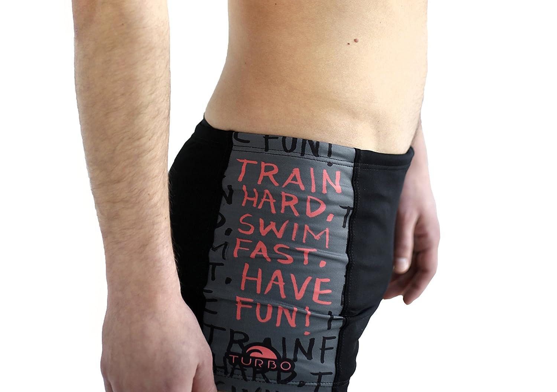 Turbo Boxer da nuoto pantaloni Train Hard pantaloncini da