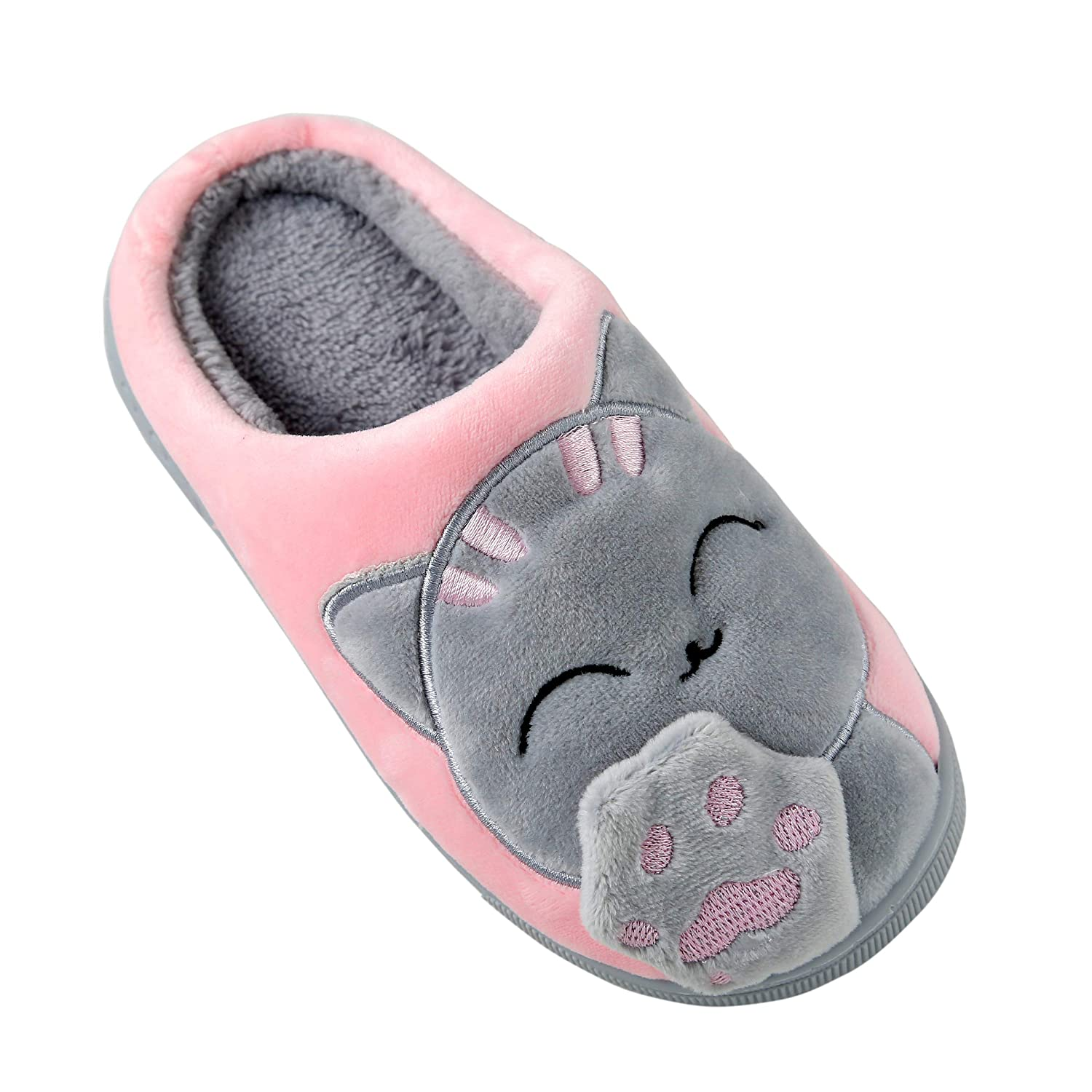 Anddyam Kids Family Cute Household Anti-Slip Indoor Slippers for Girls and Boys