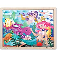 48-Pieces Melissa & Doug Mermaid Fantasea Wooden Jigsaw Puzzl