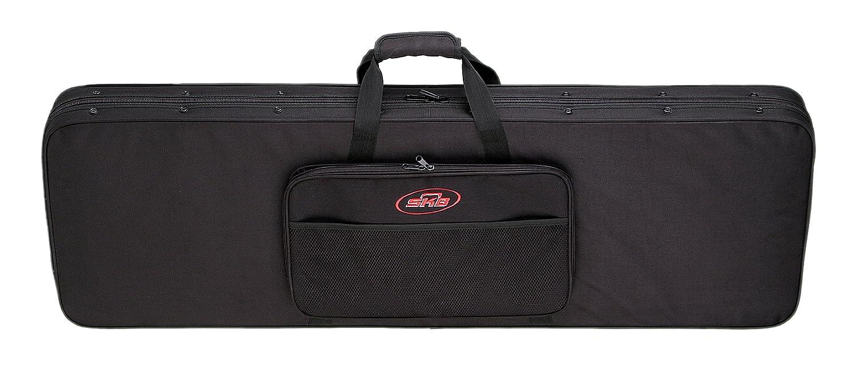 SKB Electric Bass Soft Case with EPS Foam Interior/Nylon Exterior, Back Straps 1SKB-SC44