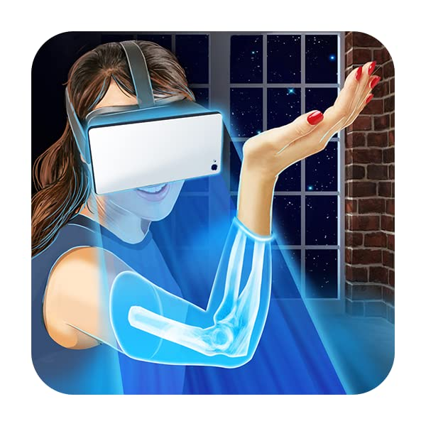 VR Helmet X-ray House Joke