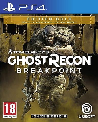 Ghost Recon: Breakpoint - Edition Gold PS4 [Importación francesa ...