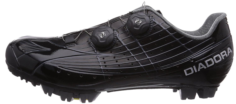Diadora X VORTEX-PRO, Unisex-Erwachsene Radsportschuhe - Mountainbike, Schwarz (schwarz/schwarz 2000), 41 EU