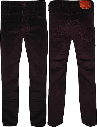 Peviani Pantalones De Pana Para Hombre De Algodon 30 44 Ajuste Formal Regular 3 Colores Casual Cintura De 30 A 44 Pulgadas Pierna Interior 32 Amazon Es Ropa Y Accesorios