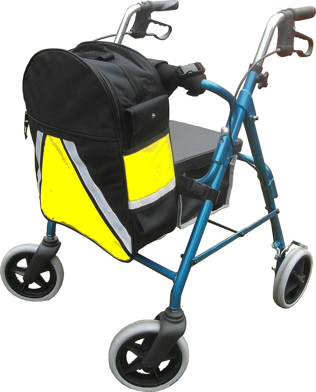 Mochila de alta visibilidad para silla de ruedas y scooter de movilidad con soporte para muletas y bastones: Amazon.es: Bricolaje y herramientas