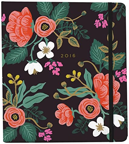 Rifle Paper 2016 Birch Floral 17-Month Planner