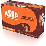 ASAP Almond and Dark Chocolate Granola Bars, 40g Each (Box of 6)