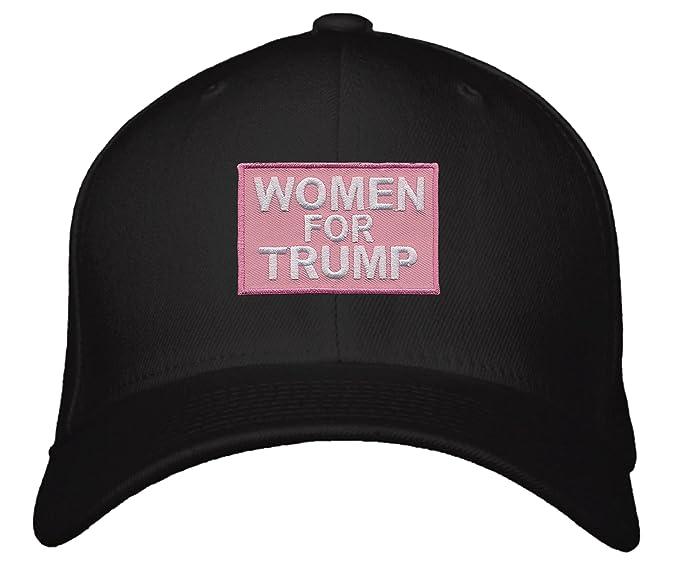 4e647681ec4 Women For Trump Hat - Snapback Black Cap at Amazon Women s Clothing store