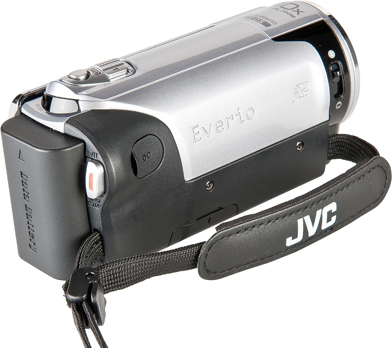 Jvc Gz E10seu Full Hd Camcorder 2 7 Zoll Silber Kamera