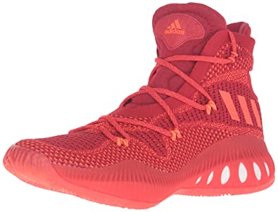 huge selection of de2cc d8086 adidas Men s Crazy Explosive Primeknit Basketball Shoes, Red Solid Light  Scarlet Infrared,