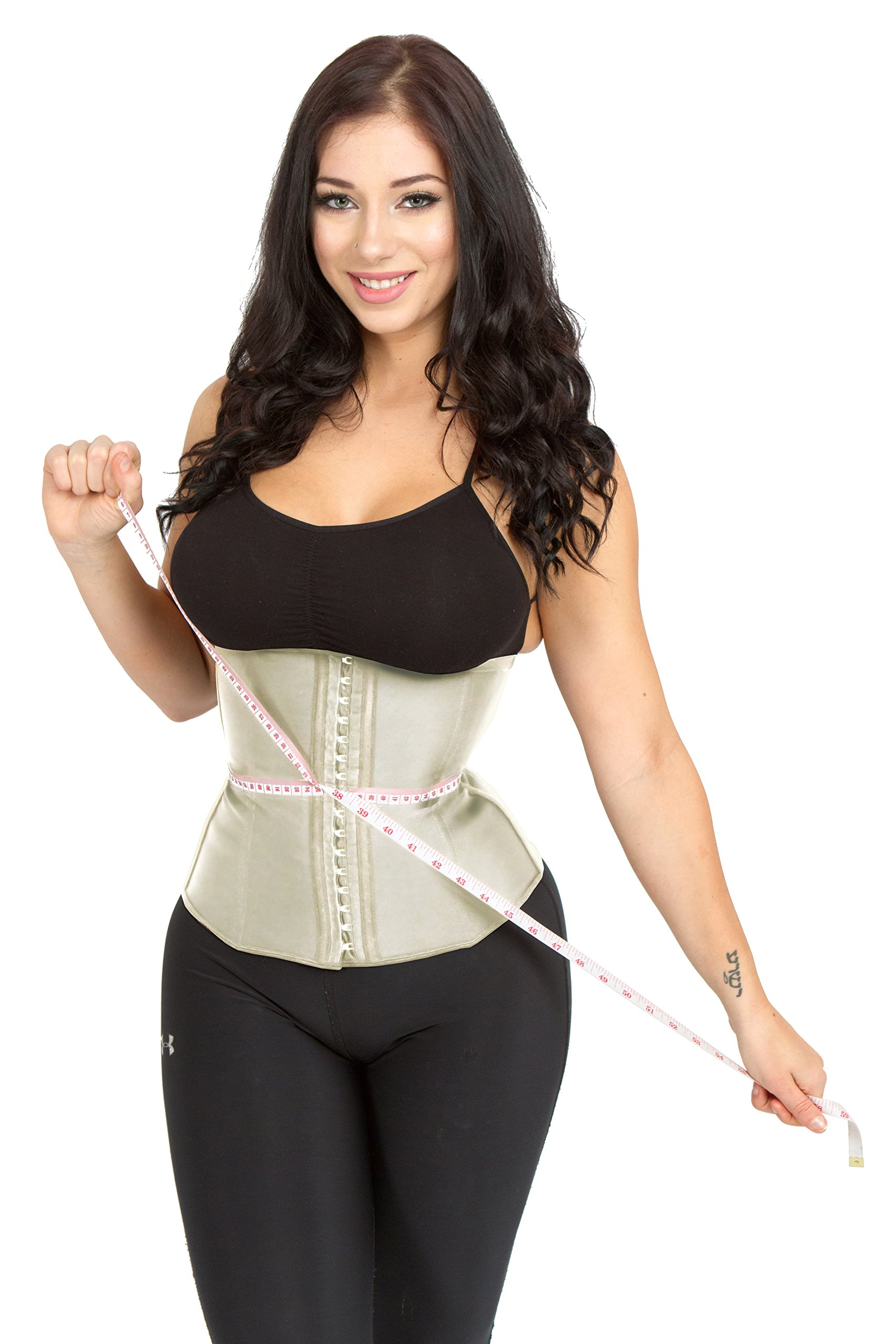 fec798be29 Galleon - Luxx Curves Luxx Health Waist Trainer Corsets For Women Fajas  Reductoras Y Moldeadoras Trimmer For Weight Loss