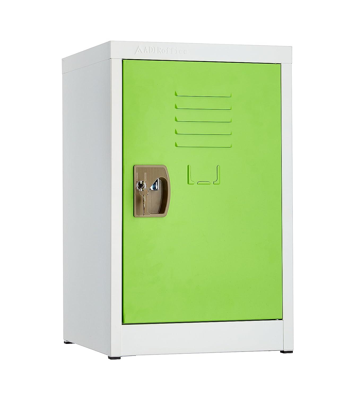 AdirOffice Kids Steel Metal Storage Locker U2013 With Key U0026 Hanging Rods (24  Inch) | Source