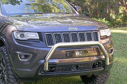 Amazon Com Wk2 Nudge Bar Mirror Polished For 2011 2018 Jeep Grand