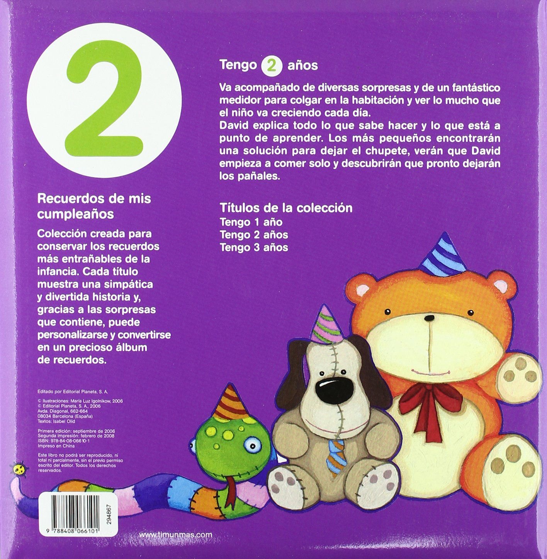 Tengo 2 años: Maria Luz Igolnikow: 9788408066101: Amazon.com: Books