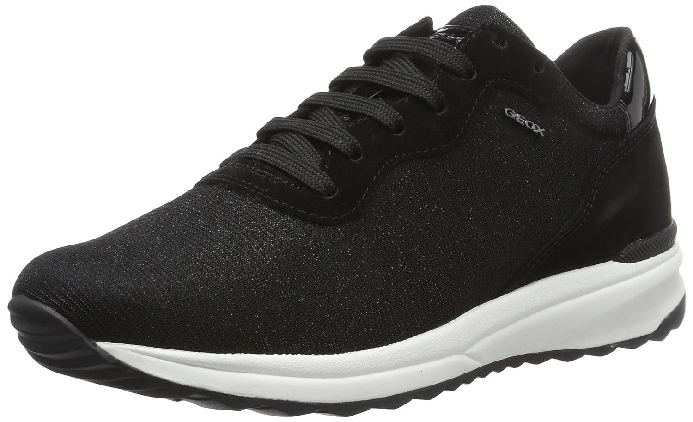 Geox D Airell B, Zapatillas para Mujer 36 EU|Negro (Blackc9997)