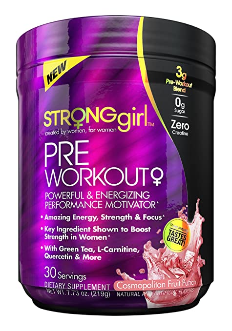 Strong Girl Pre-Workout
