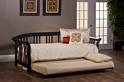 Amazon.com: Hillsdale Dorchester Daybed with Trundle and Suspension ...
