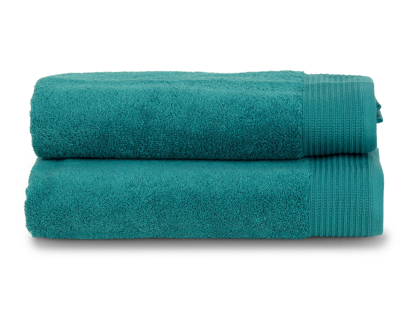 """TowelSelections Organic Collection Luxury Towels – 100% Organic Turkish Cotton, Made in Turkey, Lagoon, 2 Bath Towels - Melsimo Organic Towels. High Quality, Soft and Absorbent. Machine washable. Tumble dry low. Includes: 2 Bath Towels: 27""""x56"""" Made of 100% Organic Turkish Cotton for absorbency and softness. Weight 600 gram/sqm. - bathroom-linens, bathroom, bath-towels - 81u0twpCWdL -"""