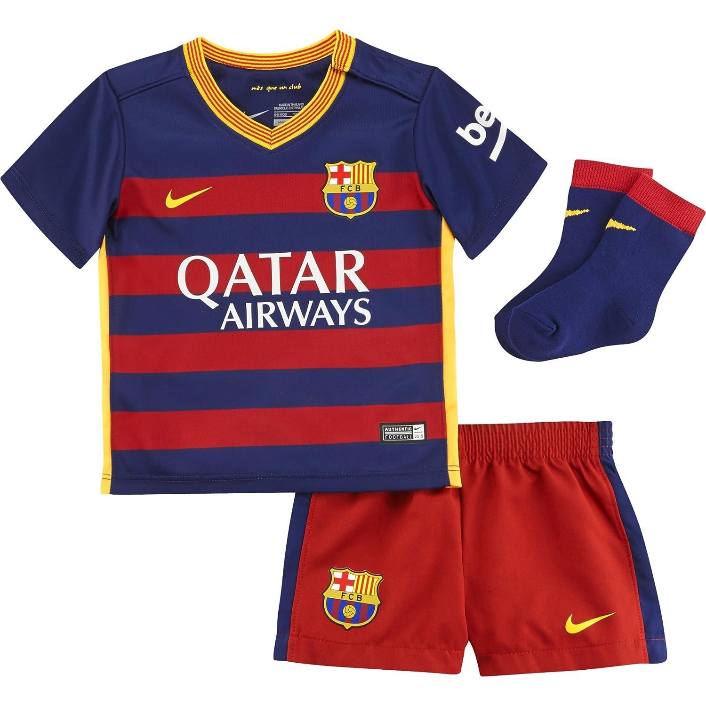 newest collection 5ddf5 e71be Nike 2015/16 Infant FC Barcelona Home Kit [Loyal Blue]