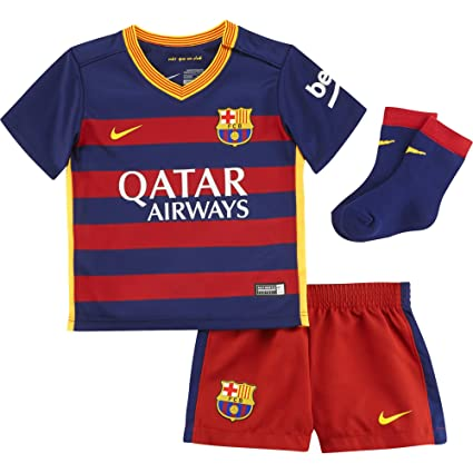 Amazon.com   Nike 2015 16 Infant FC Barcelona Home Kit  Loyal Blue ... 11f3b9aa6325c