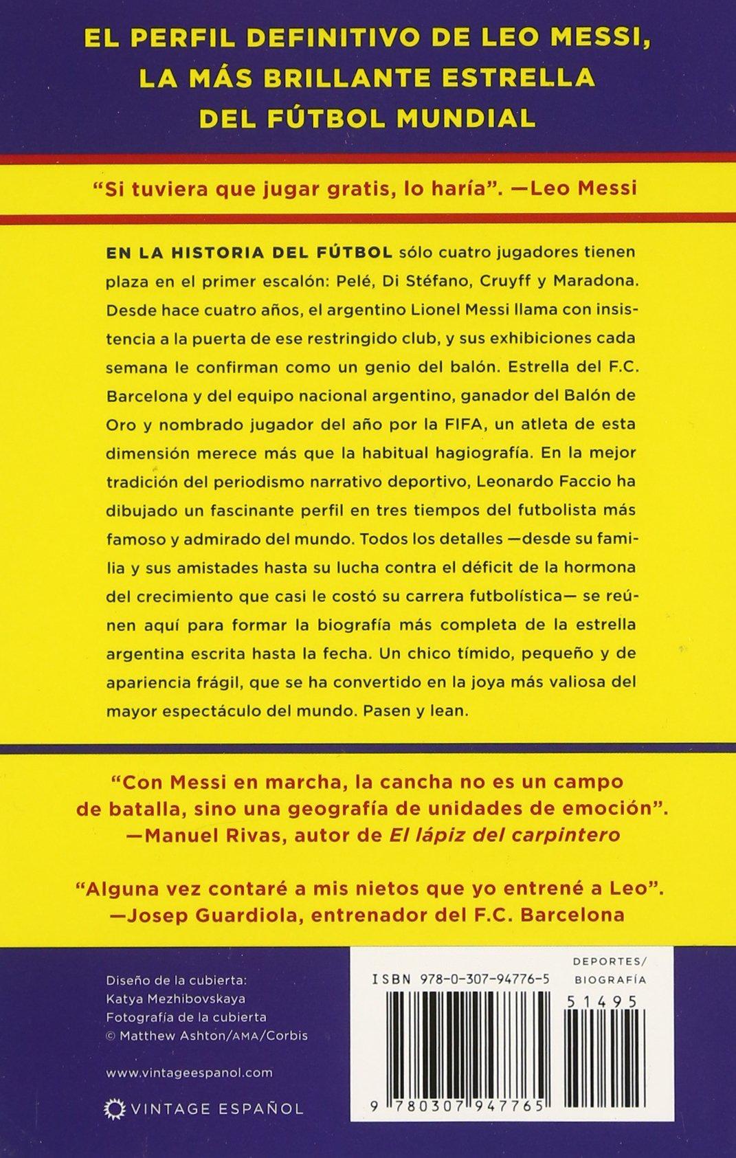 Amazon.com: Messi: Una biografía (Spanish Edition ...