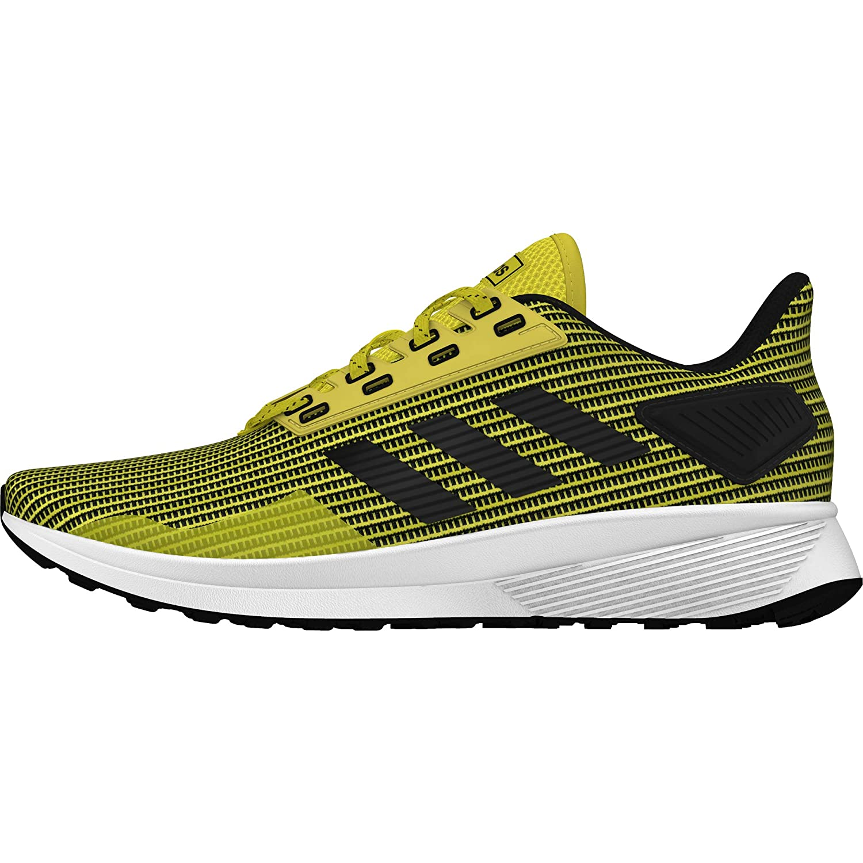 Jaune (Amasho Negbás Ftwbla 0) 43 1 3 EU adidas Duramo 9, Chaussures de Fitness Homme