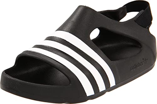 4de6e5e03326 Adidas Originals Kids Unisex Adilette Play (Infant Toddler)  Black White Black Sandal 4 Toddler M  Amazon.ca  Shoes   Handbags