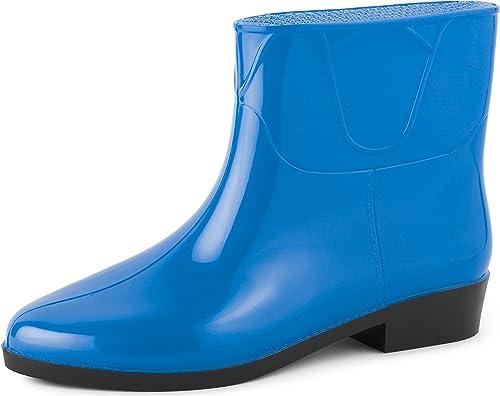 Ladeheid Pluie Bottes de Chaussure Femme Bottines LAZT201801 MSLpjzVqUG