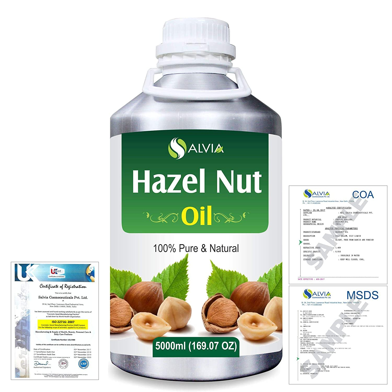 Hazel Nut (Corylus avellana) 100% Natural Pure Essential Oil 5000ml/169fl.oz. B07R3JLWVK