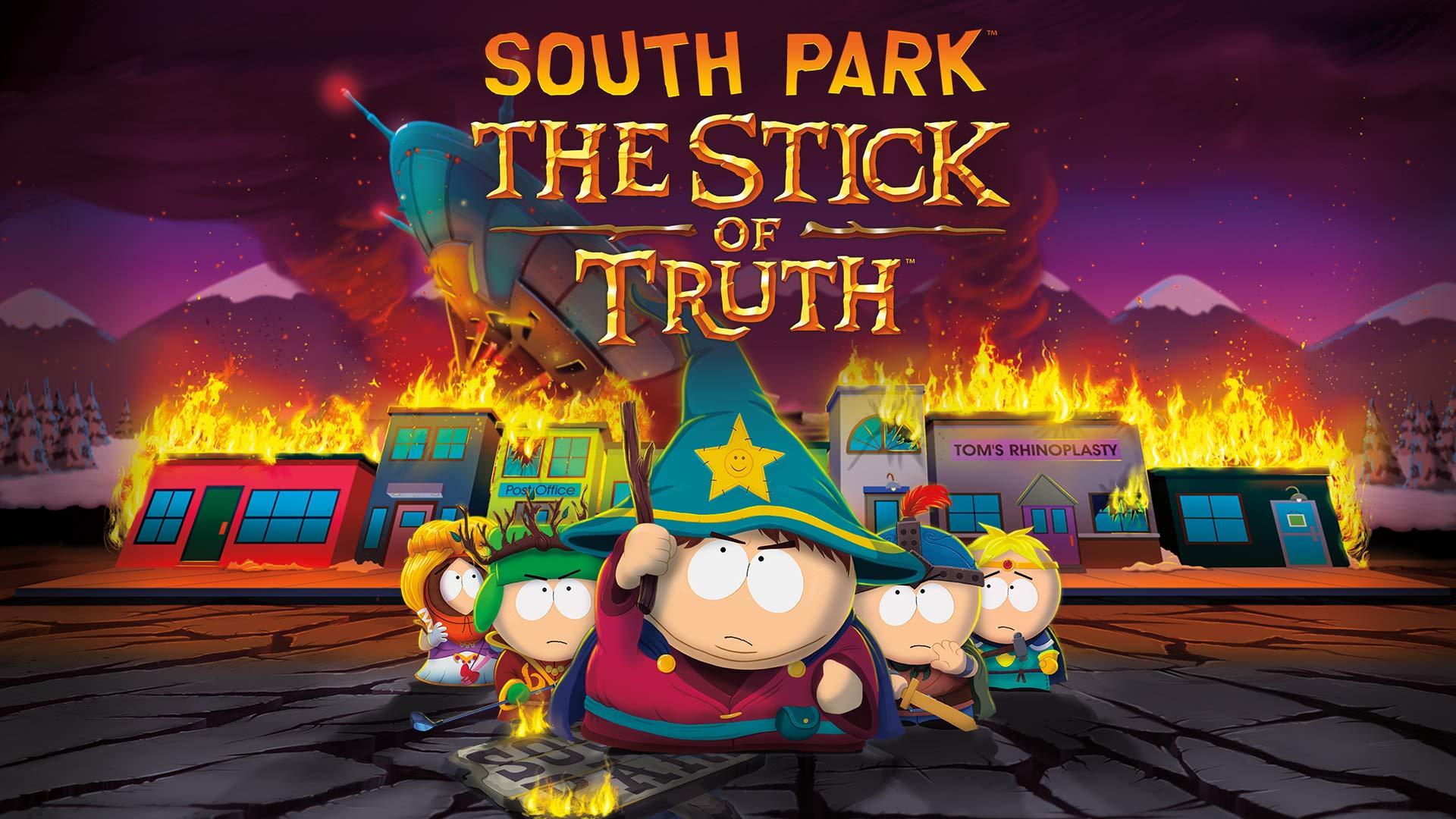 Amazon com: South Park: The Stick of Truth - Nintendo Switch
